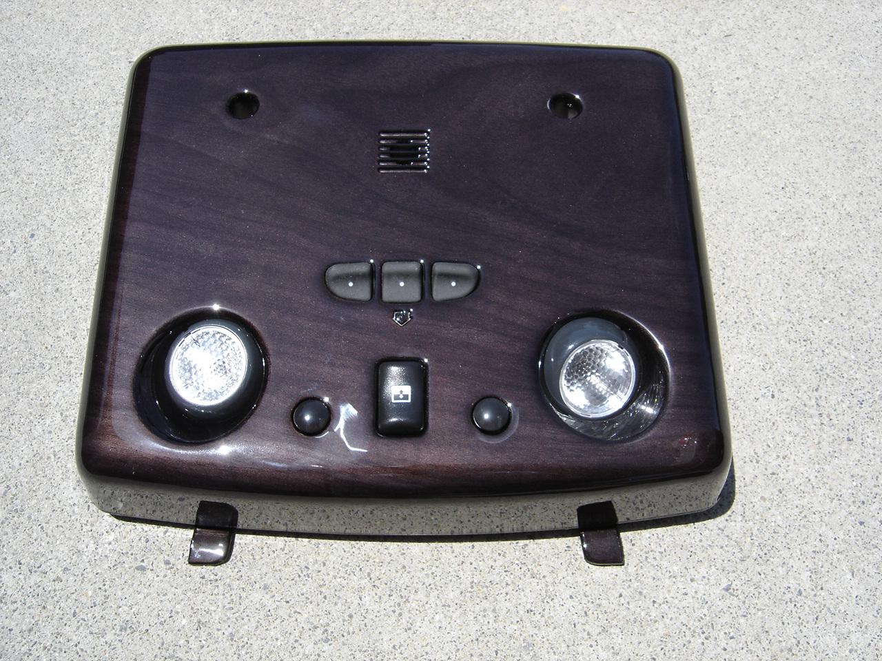 Hummerdashcom Hummer H2 Fuse Box Location Overhead Console Custom Interior Carbon Fiber Wood