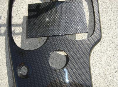 08-09 CORVETTE CARBON FIBER DASH