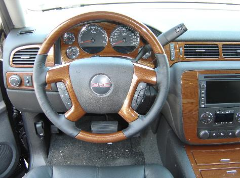 yukon interior wood trim