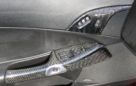 CARBON FIBER DOOR HANDLES