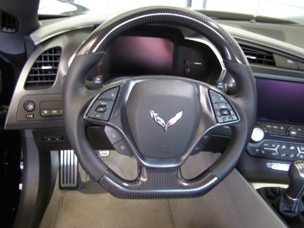Corvette Carbon Fiber Interior Steering Wheels Custom Interior Engine Exterior Hydrographic