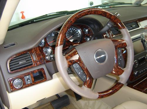 denali wood interior trim, denali wood dash kit,denali steering wheel
