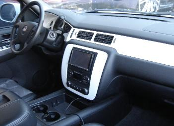 silverado custom interior trim dash kit and steering wheel