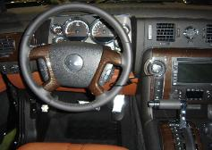 HUMMER DASH AND STEERING WHEEL TIGER WOOD