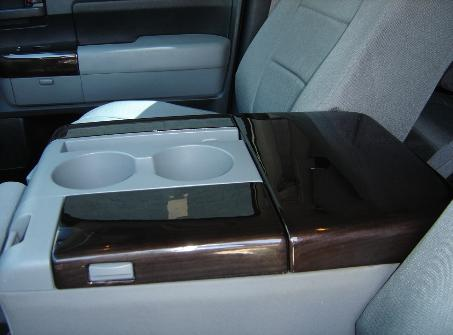 Toyota Tundra blackwood dash and console