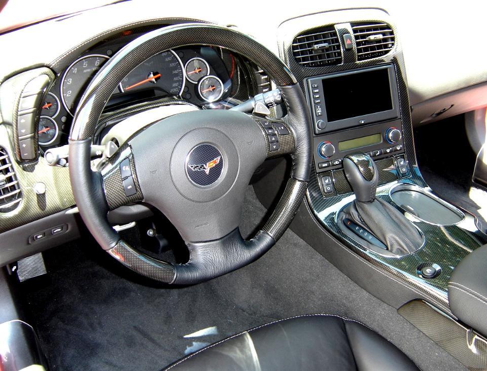 Corvette 4lt Carbon Fiber Interior Dash Kit