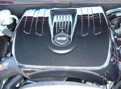 ss trailblazer carbon fiber engine cover