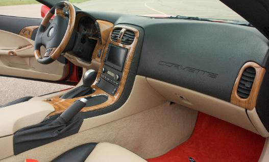 Water Based Car Paint >> CORVETTE CARBON FIBER INTERIOR & STEERING WHEELS, CUSTOM INTERIOR ENGINE EXTERIOR HYDROGRAPHIC ...